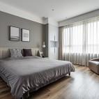 明亮简洁现代主卧室设计