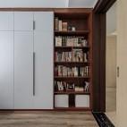 明亮简洁现代书房设计