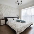 清新美式主卧室设计图