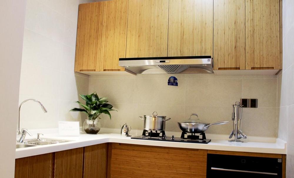 保利叶语日式软装案例餐厅日式厨房设计图片赏析