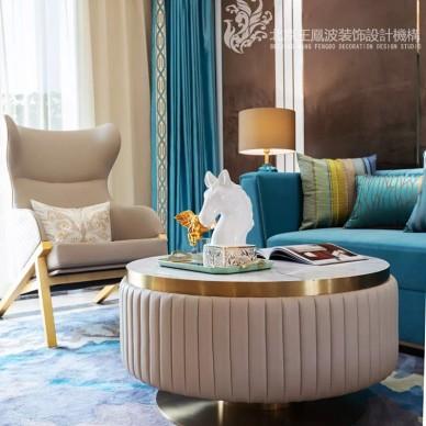现代简约客厅茶几图片