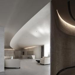华润置房地产售楼处洽谈区设计