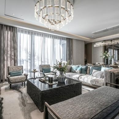 浪漫东方售楼处客厅实景图片