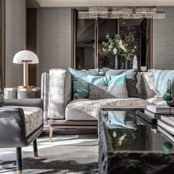 浪漫东方售楼处客厅沙发图