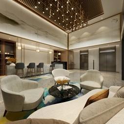 酒店公寓大堂设计_3593699