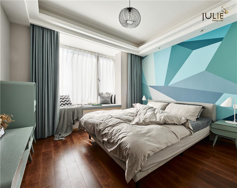ForestPrincess北欧风主卧室设计卧室北欧极简卧室设计图片赏析