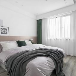 盐系风卧室实景图片