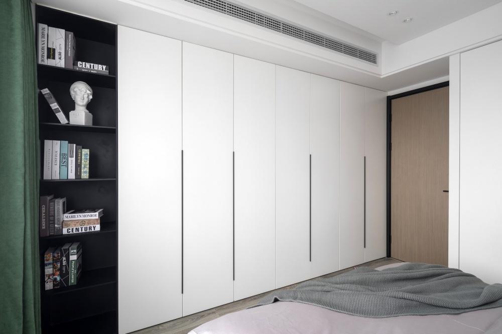 盐系风卧室衣柜设计图卧室衣柜潮流混搭卧室设计图片赏析
