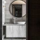 四居中式风卫浴干区设计