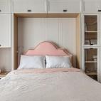 四居中式风卧室储物柜设计