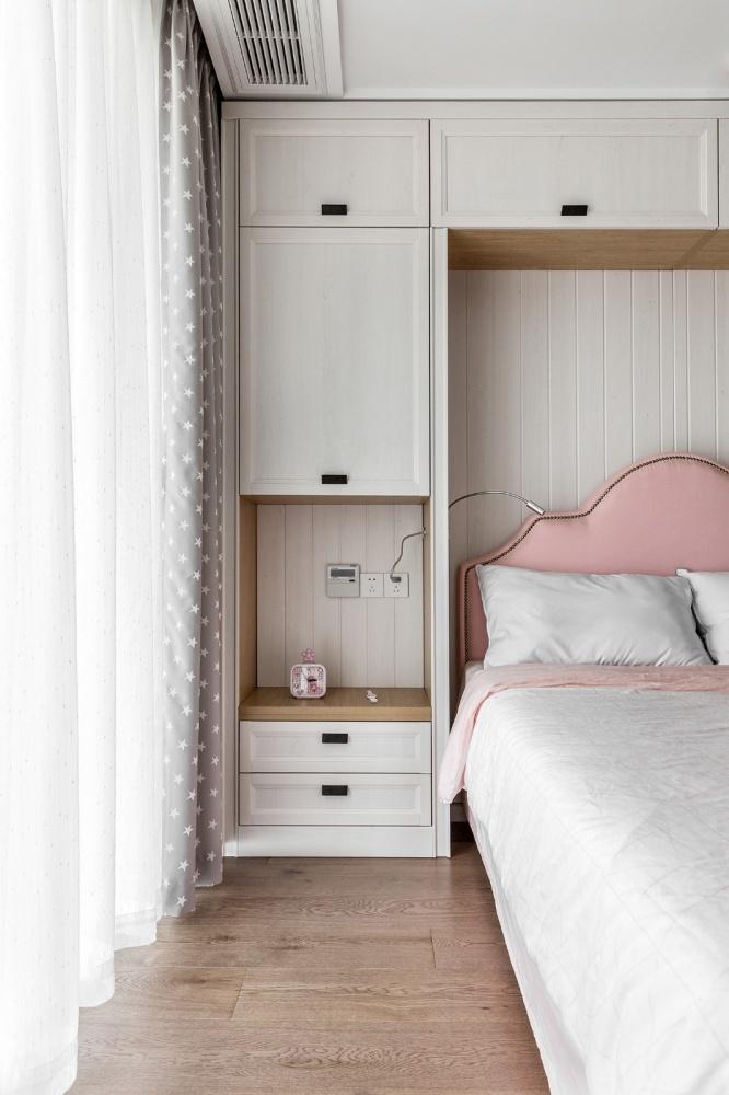 四居中式风卧室储物柜设计图片卧室中式现代卧室设计图片赏析