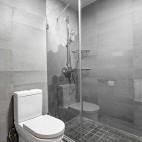 四居中式风卫浴设计图片