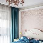 艺术感混搭风卧室设计