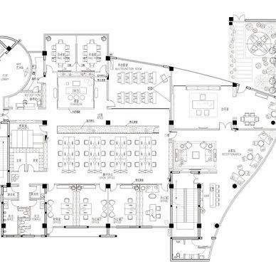 现代优雅办公空间_3595262