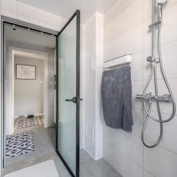 95平米北欧风卫浴设计
