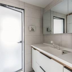 95平米北欧风卫浴洗手台设计