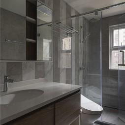 温和混搭风卫浴设计