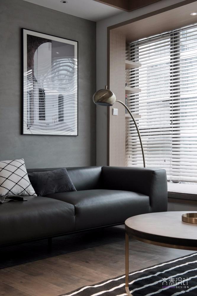 现代两居室客厅落地灯图片客厅现代简约客厅设计图片赏析