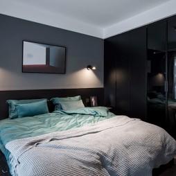 现代两居室卧室设计图片