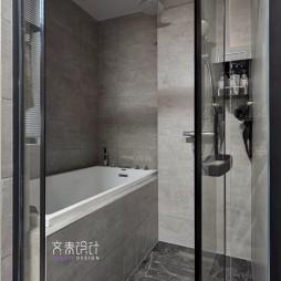现代两居室卫浴设计实景图