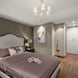 低奢新美式主卧室设计