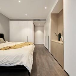 极简风卧室实景图片