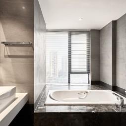 极简风卫浴设计