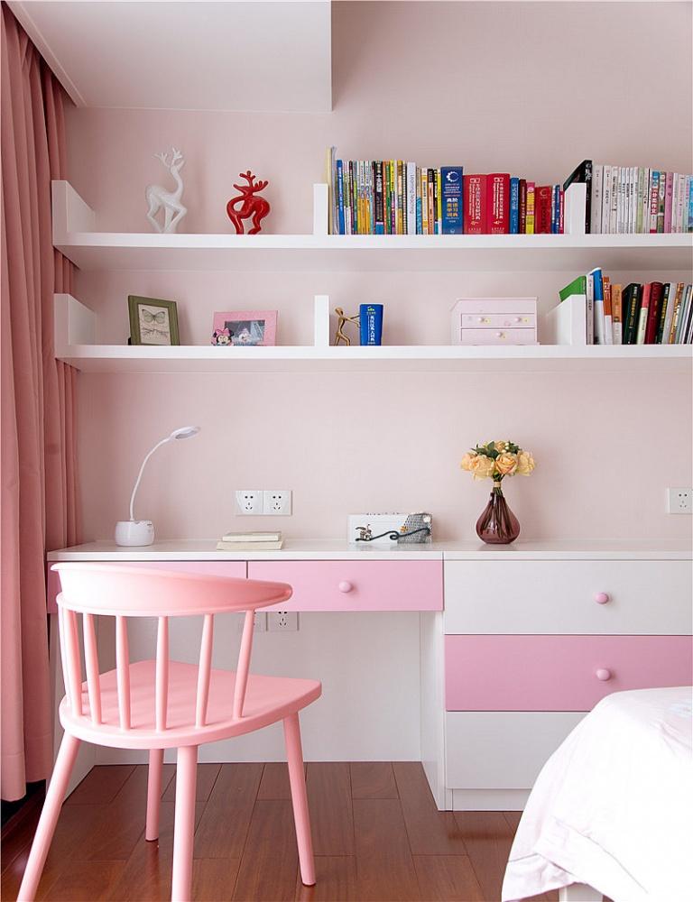 只砸半堵墙,涌现大客厅***时尚小简欧卧室4图现代简约卧室设计图片赏析
