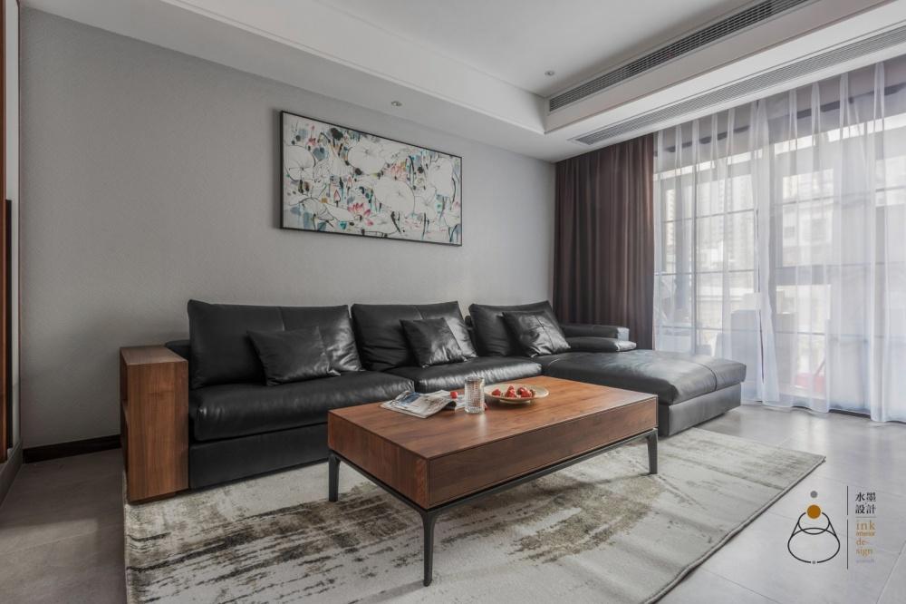300㎡复式客厅装饰画实景图客厅现代简约客厅设计图片赏析