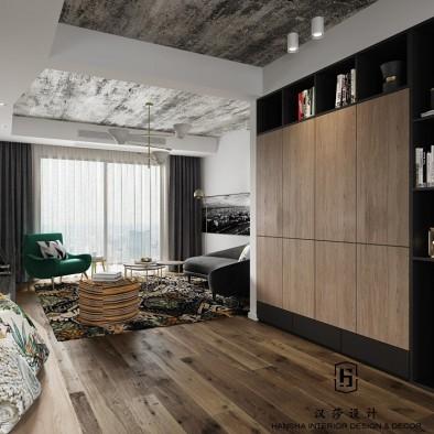 汉莎设计丨芜湖泰华家园现代混搭实景