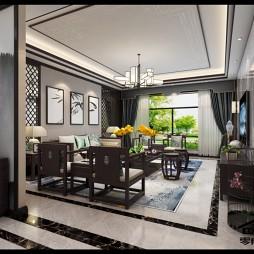 别墅混搭风格设计_3598579