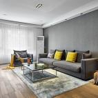 温馨现代风客厅沙发图片