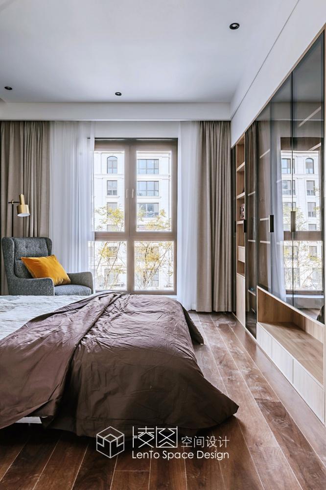 品质现代风卧室储物柜设计卧室现代简约卧室设计图片赏析