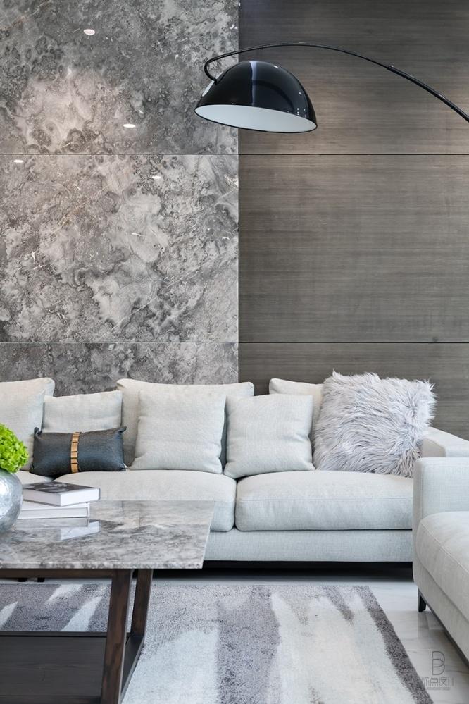 品质简约风客厅落地灯实景图片客厅现代简约客厅设计图片赏析