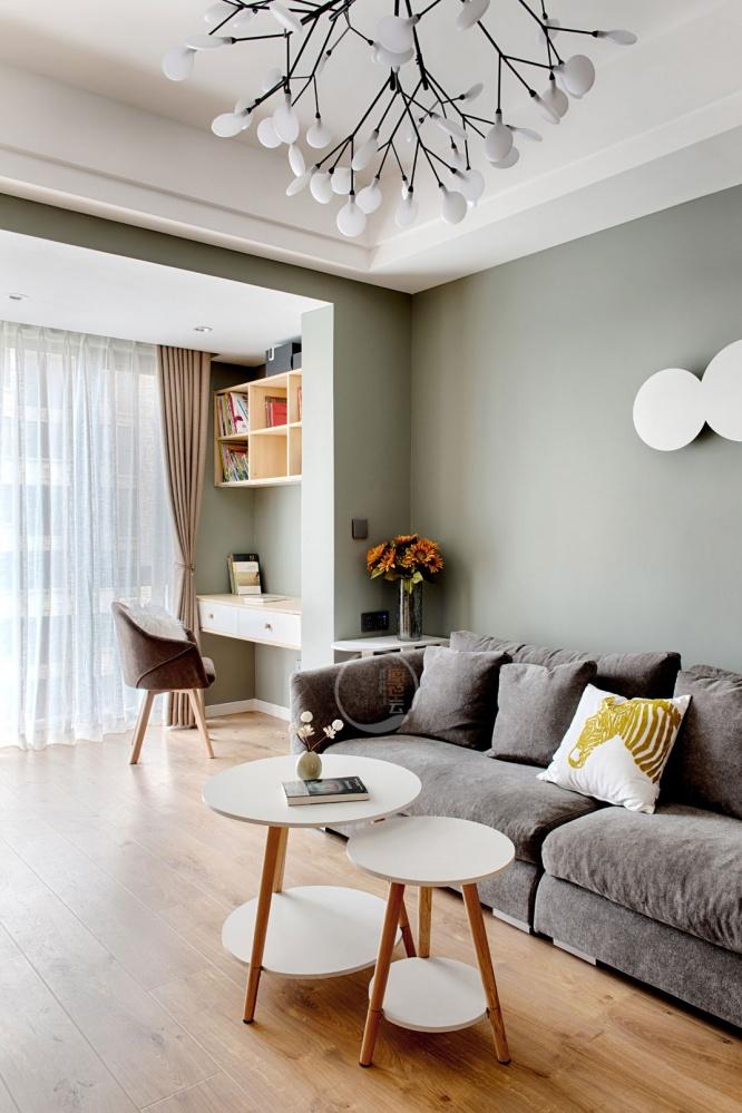 北欧混搭风客厅茶几设计图客厅2图潮流混搭客厅设计图片赏析