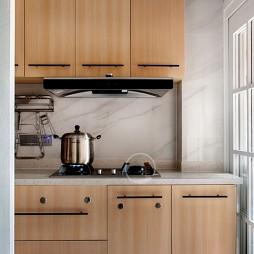 北欧混搭风厨房设计图