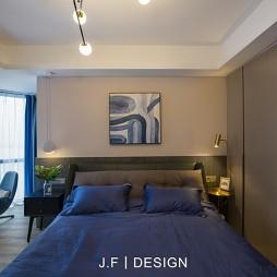 舒适现代风次卧设计图