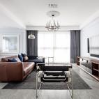 现代复古客厅吊灯图片