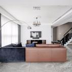 现代复古客厅落地灯图片