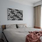 现代复古次卧设计