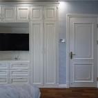 中式复式衣柜实景图片