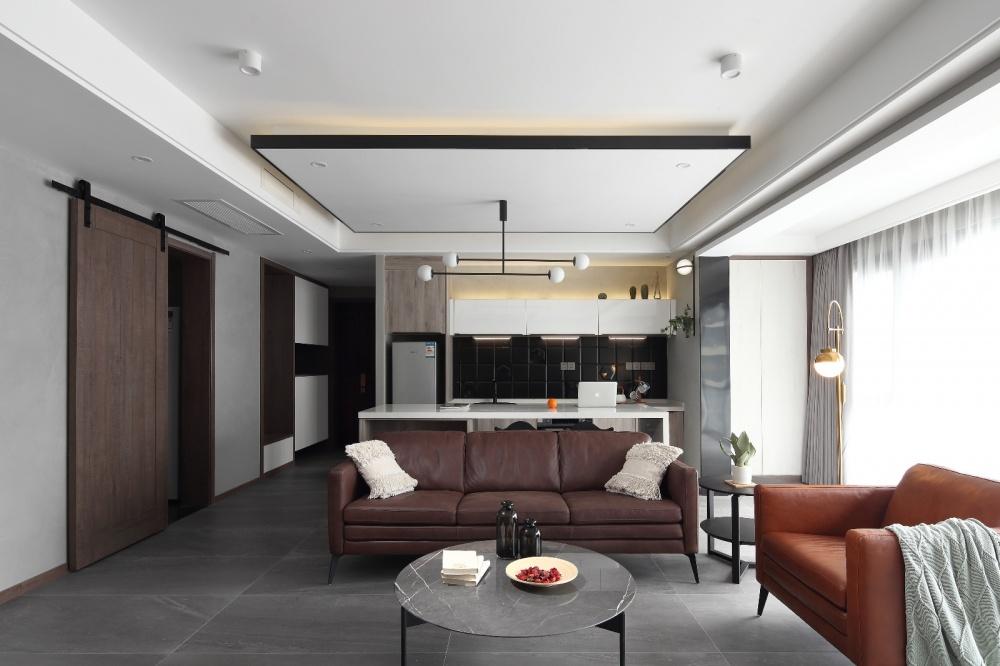 简单现代风客厅沙发图片客厅4图现代简约客厅设计图片赏析