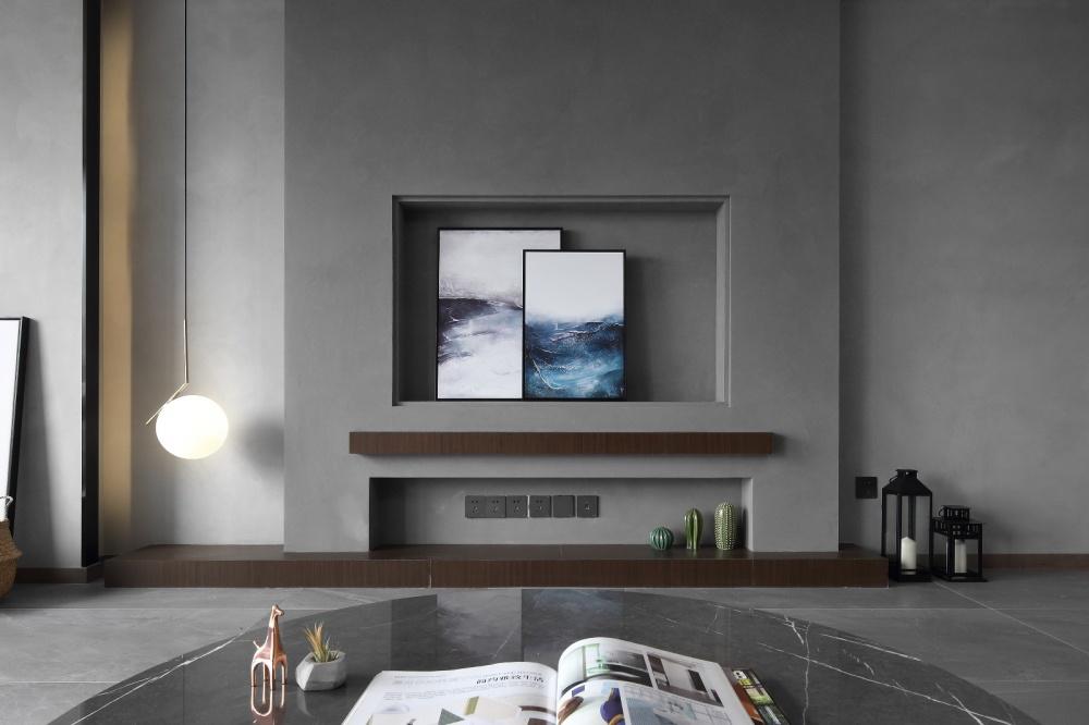 简单现代风客厅吊灯图片客厅2图现代简约客厅设计图片赏析