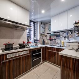 金属混搭风厨房实景图片