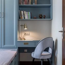 金属混搭风书房书柜设计