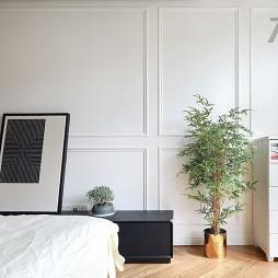 轻奢风简约风卧室电视柜设计