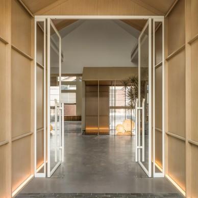 雁舍 四季餐厅走廊设计