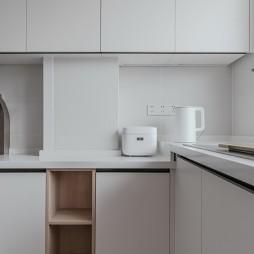晓安设计 | 简约风厨房橱柜设计图