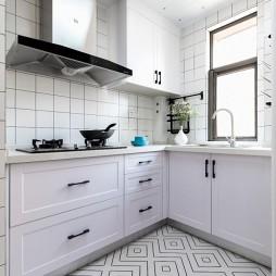 北欧风三居厨房图片