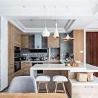 北欧风厨房实景图片
